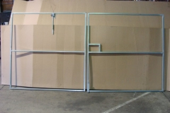 phoca_thumb_l_Double gate, all frames supplied with hinges and latches. Some sizes always kept in stock.